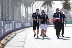 Caminando por la pista Sergio Pérez, Force India