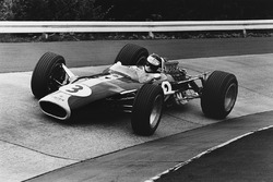 Jim Clark, Lotus 49 Ford, in the Karussel