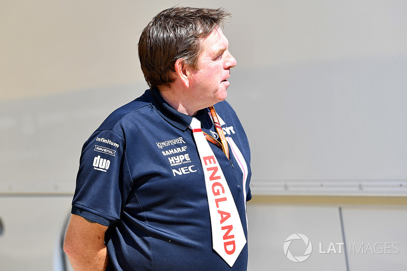 Сотрудник Sahara Force India F1