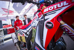 Presentación Monster Energy Honda Team