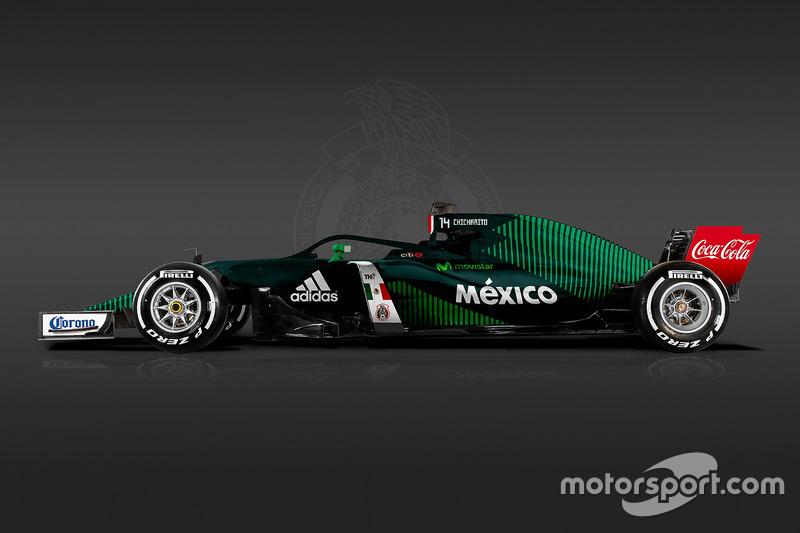 Livrea Formula 1 World Cup