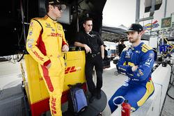 Ryan Hunter-Reay, Andretti Autosport Honda, Alexander Rossi, Andretti Autosport Honda