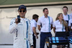 Felipe Massa, Williams at the Williams team photo