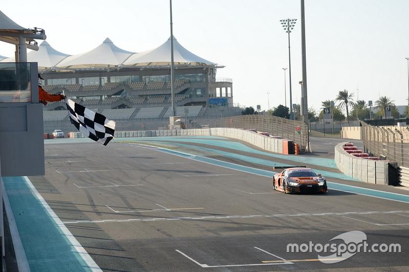 I vincitori della gara parte 1, #8 Car Collection Motorsport Audi R8 LMS GT3: Dirg Parhofer, Isaac Tutumlu-Lopez, Peter Schmidt