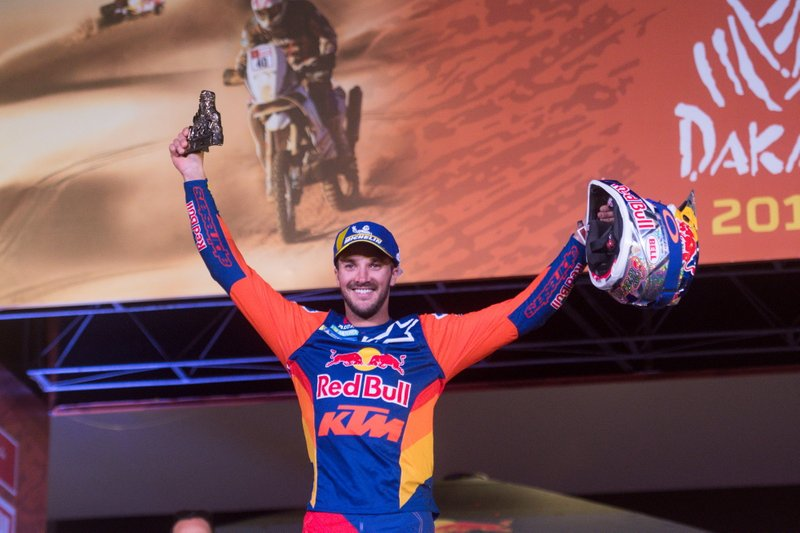 Podio: #14 Red Bull KTM Factory Racing KTM: Sam Sunderland