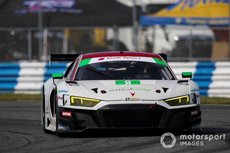 #8 Starworks Motorsport Audi R8 LMS GT3, GTD: Parker Chase, Ryan Dalziel, Ezequiel Perez Companc, Chris Haase