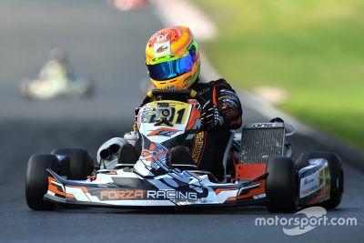 Fotos de karting de George Russell