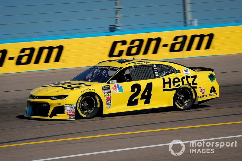 19. William Byron, Hendrick Motorsports, Chevrolet Camaro Hertz