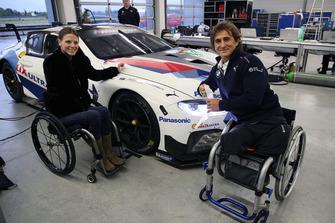 Nathalie McGloin, FIA Disabilty and Accessibility Commission, Alex Zanardi, BMW M8 GTE