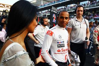 Nicole Scherzinger, Lewis Hamilton, McLaren MP4-25
