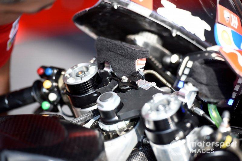 Ducati introduceerde nog een nieuwigheid op de GP19