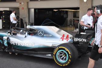 Mercedes-AMG F1 W09 : vue latérale