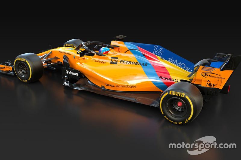 McLaren MCL33 von Fernando Alonso in Abu Dhabi
