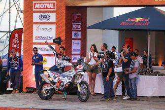 Podio: Klicen Ktm R2r Dakar Rally Team: Zhang Min