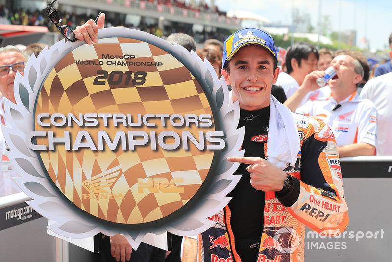 Ganador de la carrera Marc Marquez, Repsol Honda Team