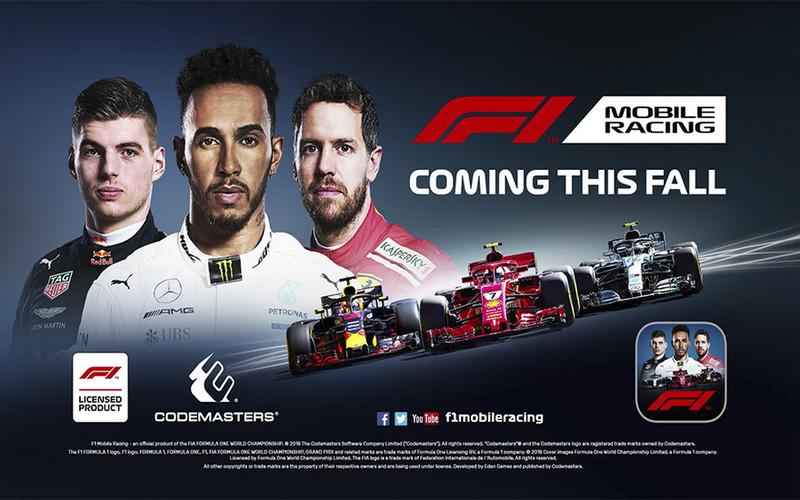 F1 Mobile Racing 2018