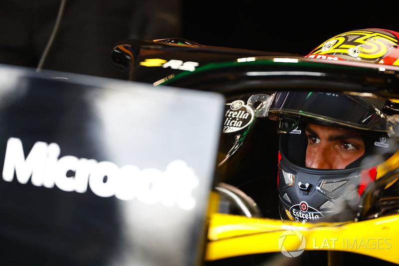 12 місце — Карлос Сайнс (Іспанія, Renault) — коефіцієнт 2001,00