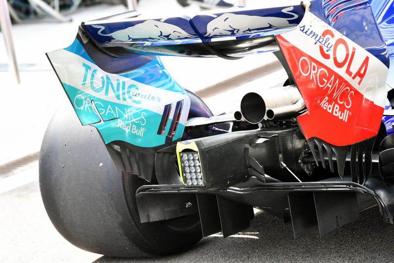 Заднее крыло Toro Rosso STR13