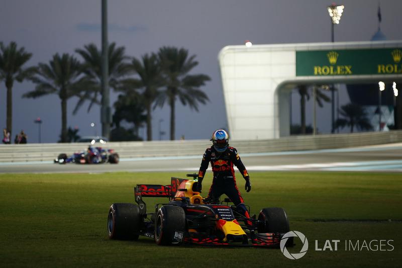 Ricciardo kurz vor Ausfall mit Hydraulikdefekt