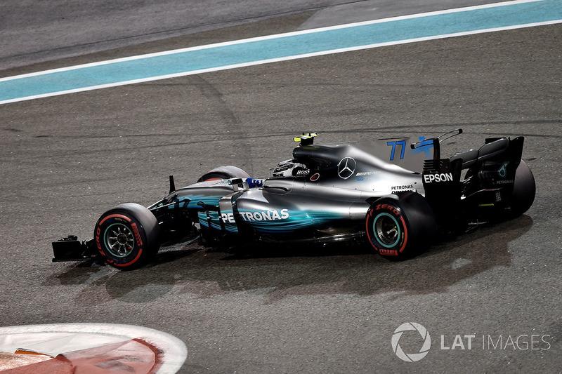 #77 Valtteri Bottas, Mercedes