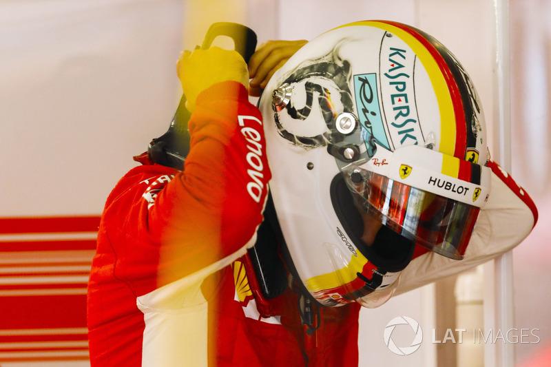 Chine - Sebastian Vettel