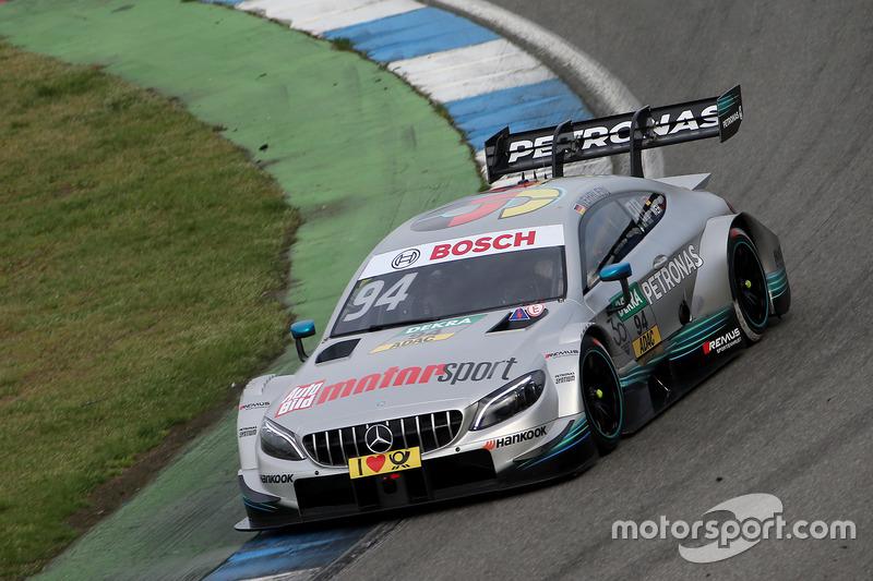 #94 Pascal Wehrlein, Mercedes-AMG Team HWA, Mercedes-AMG C63 DTM