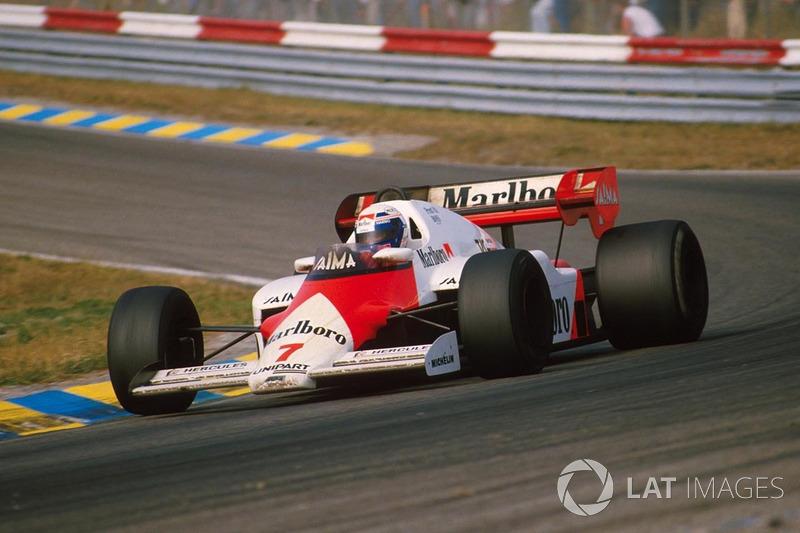 1984: McLaren MP4/2 TAG-Porsche (12 побед, титул в КК)