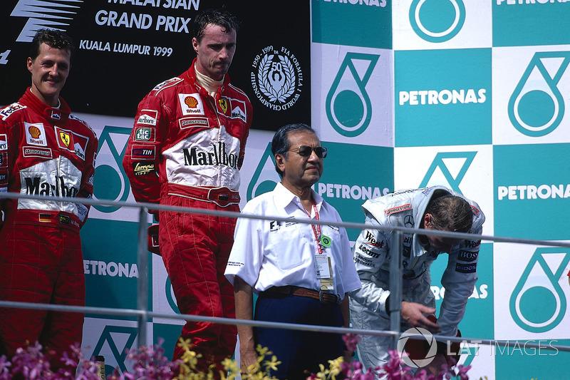 1999 – Едді Ірвайн, Ferrari