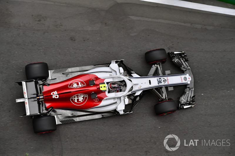 13: Шарль Леклер, Sauber C37 – 1:44.074