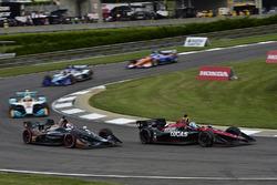Zach Veach, Andretti Autosport Honda, Robert Wickens, Schmidt Peterson Motorsports Honda