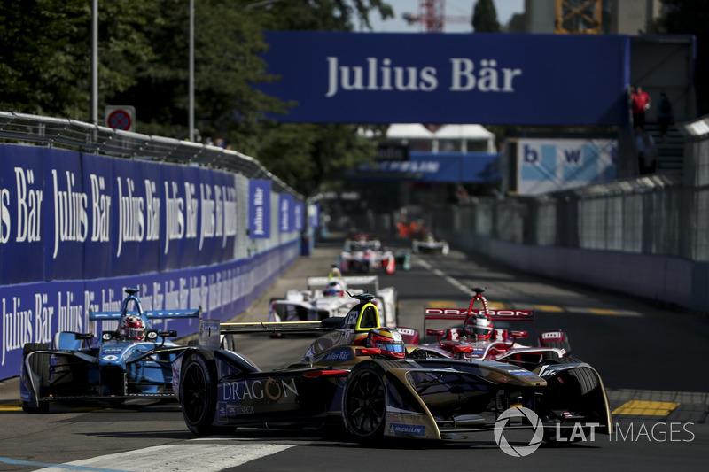 Jean-Eric Vergne, Techeetah, Jérôme d'Ambrosio, Dragon Racing, Sébastien Buemi, Renault e.Dams