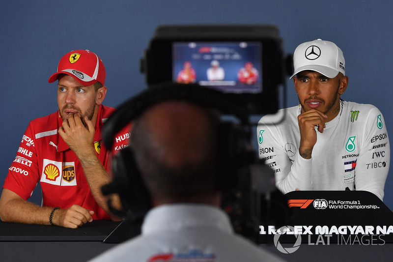 """Lewis Hamilton: """"Fizemos um trabalho incrível, sabíamos que a Ferrari seria muito rápida neste fim de semana e trazer esses pontos para casa é definitivamente um bônus para nós."""""""