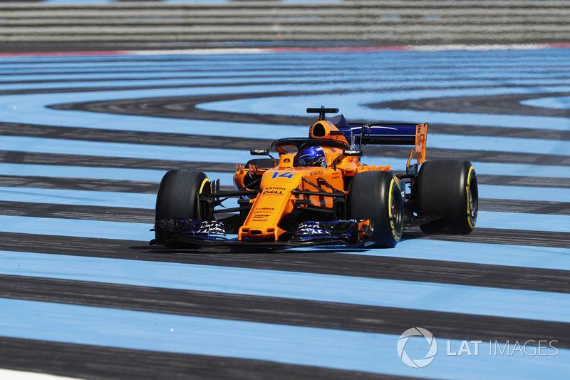 7 місце — Фернандо Алонсо (Іспанія, McLaren) — коефіцієнт 401,00