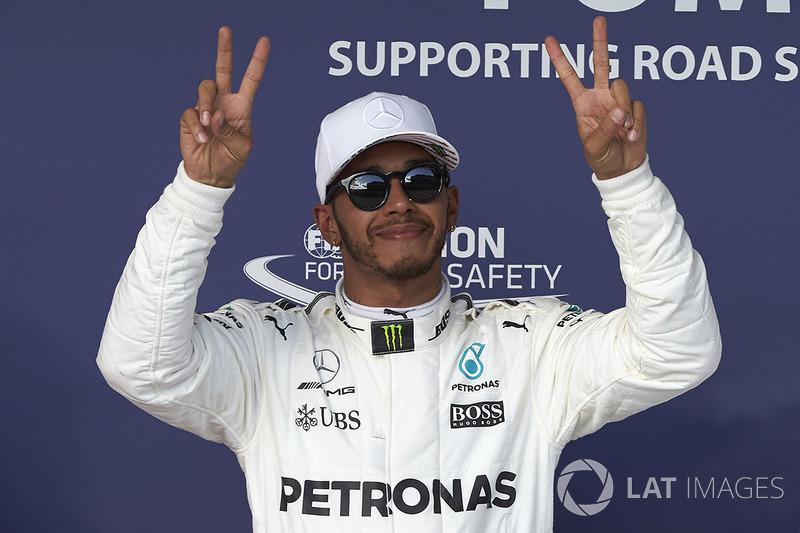1 місце - Льюіс Хемілтон, Mercedes AMG F1