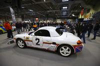 Une Porsche exposée
