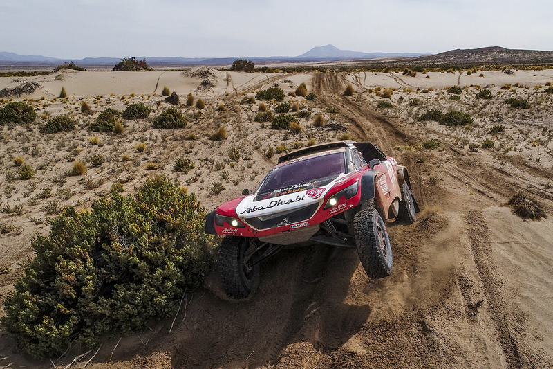 8. #319 Peugeot: Халід Аль-Кассімі, Ксав'є Пансері