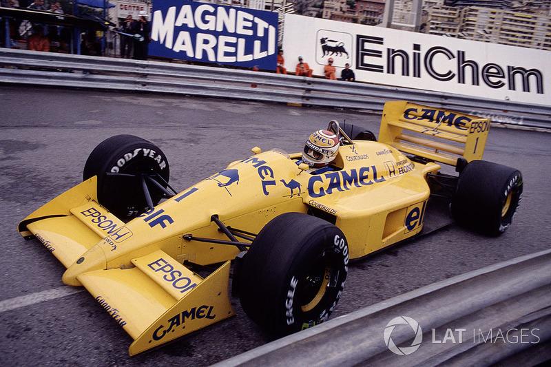 20: Nelson Piquet: 116 grandes premios (el 56,86% de los disputados)