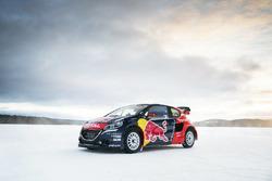 The car of Sebastien Loeb