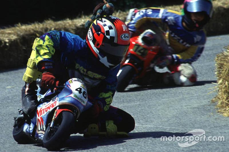 Валентино Росси на минибайке. Начало 90-х