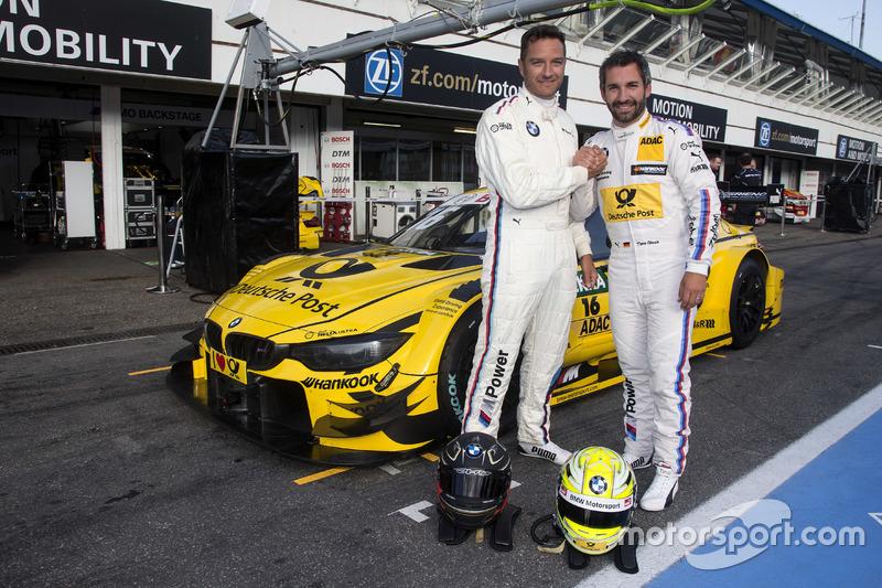 Тімо Шайдер та Тімо Глок, BMW Team RMG, BMW M4 DTM