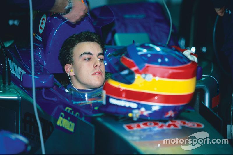 Dezember 1999: Fernando Alonso