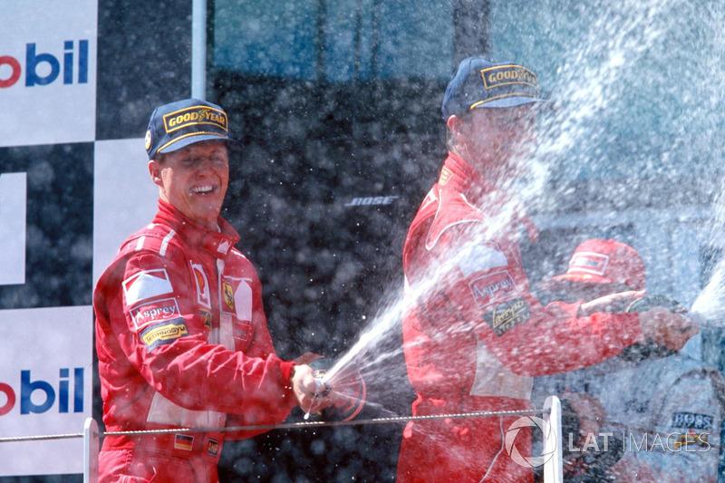 Михаэль Шумахер одержал восемь побед на Гран При Франции, а Ferrari выигрывала этот этап 17 раз