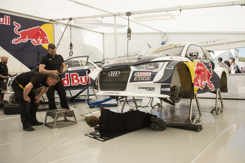 la voiture de mattias ekstr m eks audi s1 eks rx quattro barcelone photos world rallycross. Black Bedroom Furniture Sets. Home Design Ideas