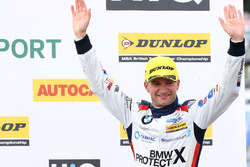 Podium: third place Colin Turkington, West Surrey Racing BMW 125i M Sport