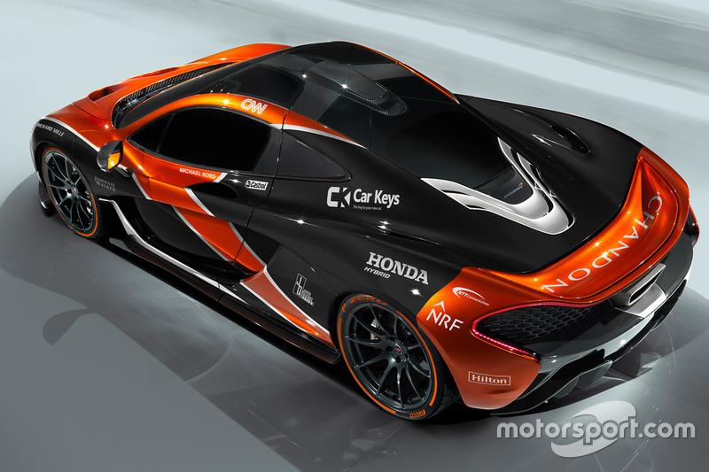McLaren P1 en livery de McLaren