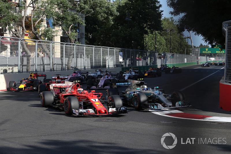 Потрясающий Гран При в Баку и другие классные гонки