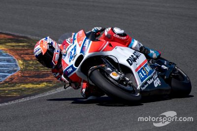 Teste da Ducati em Valência