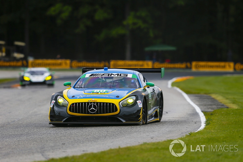 #80 Lone Star Racing Mercedes AMG GT3: Ден Нокс, Майк Скін