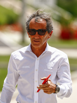 Alain Prost, former world champion and Advisor, Renault Sport F1 Team