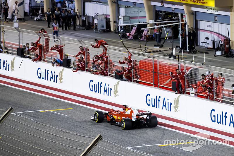 Bahreyn GP: Sebastian Vettel, Ferrari SF70H